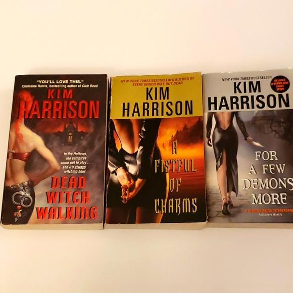 Kim Harrison, 3 book bundle